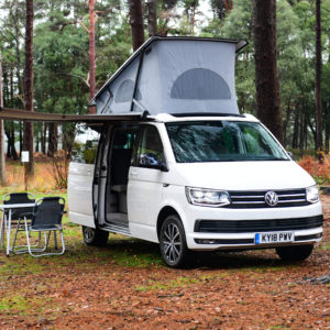 Glamping in Scotland   VW Campervan Hire