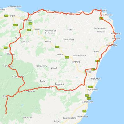 North Coast 250 Route 1
